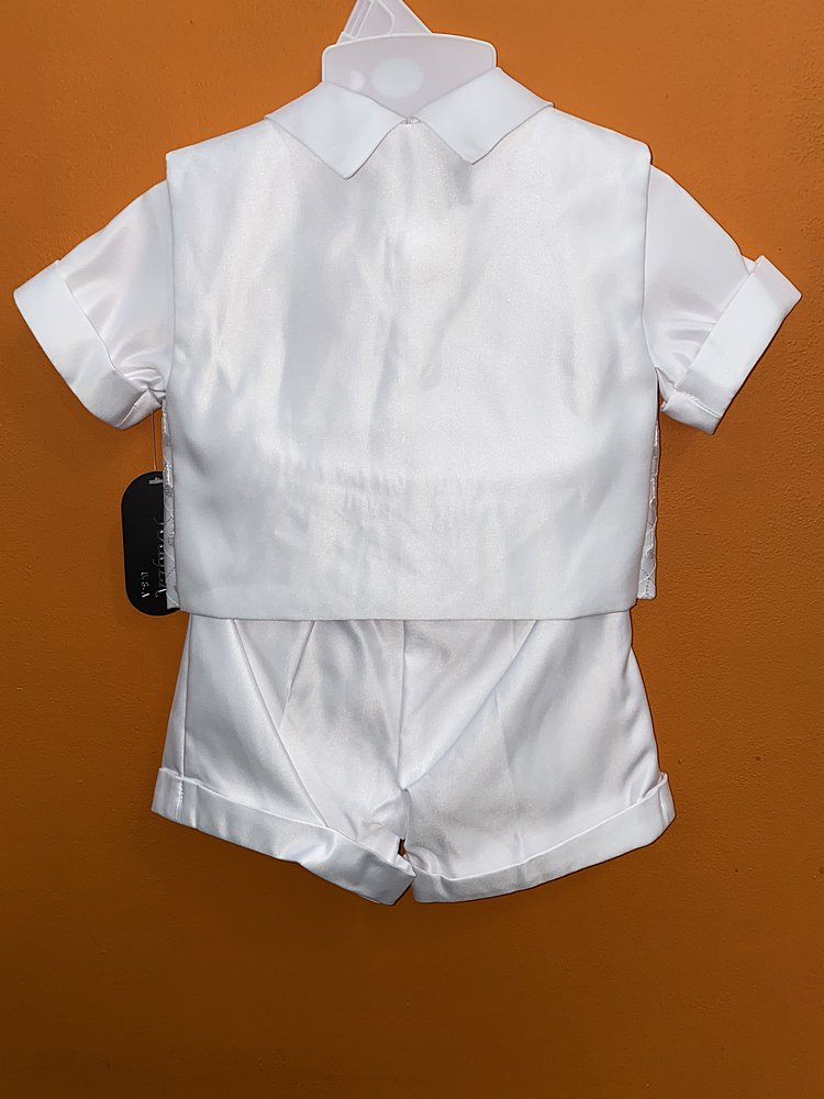 430 / WHITE / SHORT SET [XS-XL][2-4]