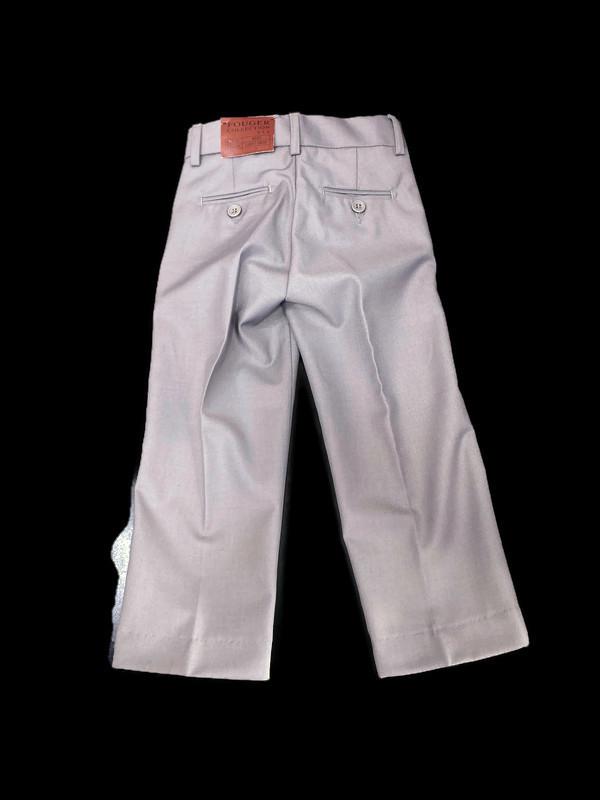 500 / LIGHT GRAY / SLIM FIT PANTS -2