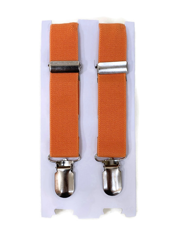 *SUSPENDERS B / CORAL / Toddler and Youth Suspenders