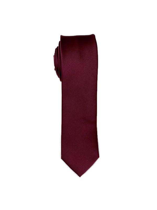 * MENS TIE / BURGUNDY MM / Men's Regular Tie