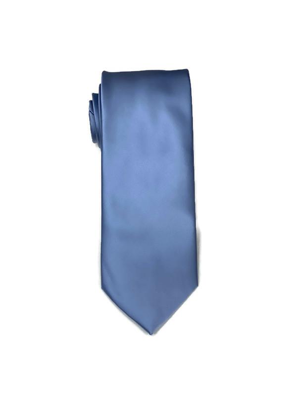 * MENS TIE / CARRIBEAN BLUE / Men's Regular Tie