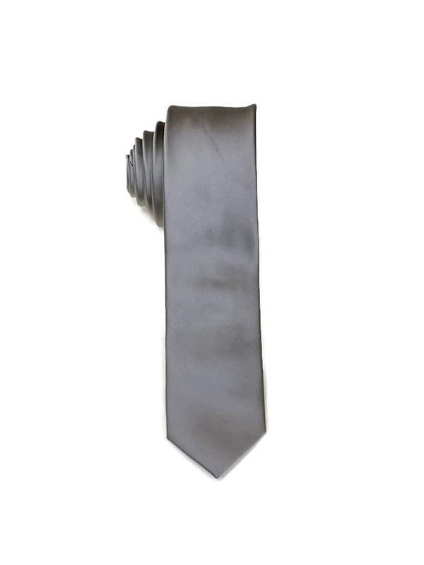 * MENS TIE / DARK GRAY ZZ / Men's Regular Tie