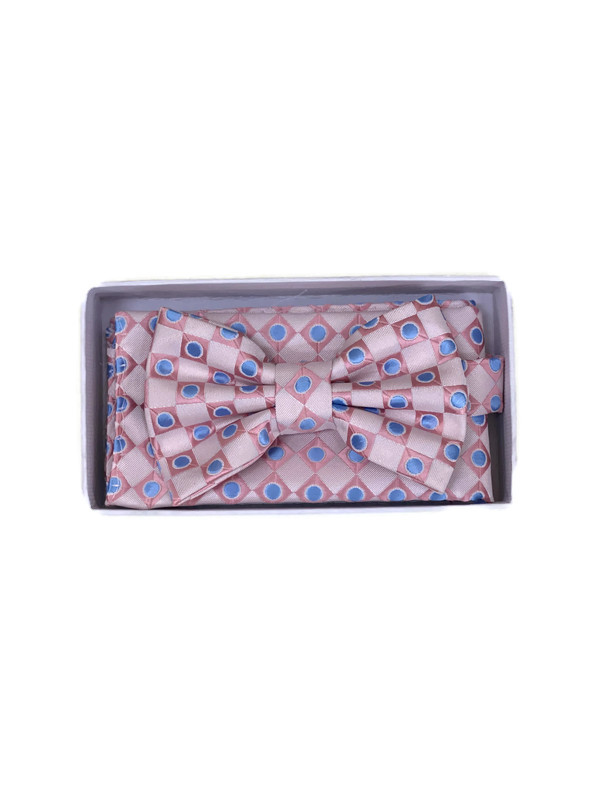 * BOW & HANKY D / BABY PINK 3272I / Bow and Hanky With Design