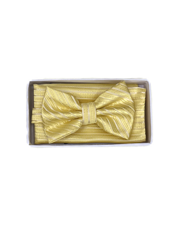 * BOW & HANKY D / YELLOW F108F / Bow and Hanky With Design