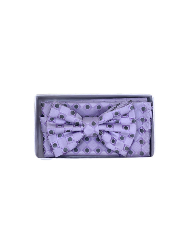 * BOW & HANKY D / LILAC 3272F / Bow and Hanky With Design