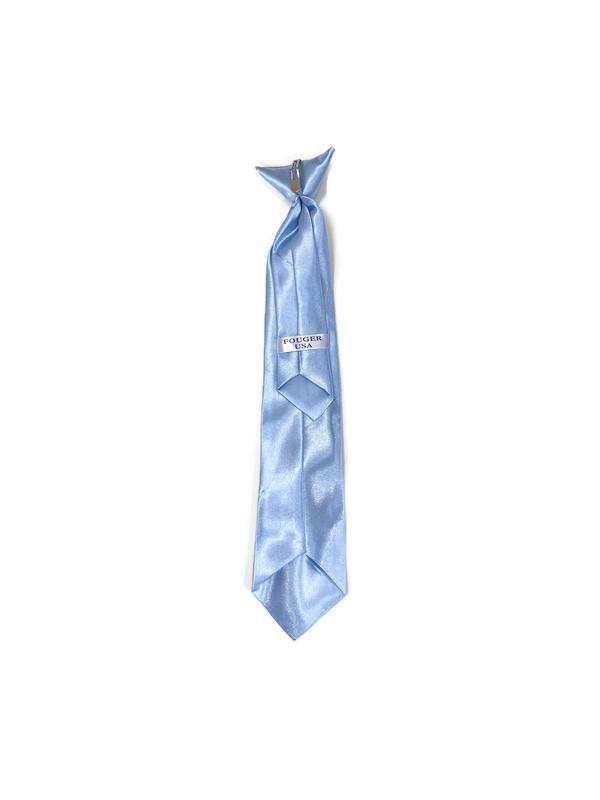 * CLIP-ON TIE / BABY BLUE / Clip-on Tie