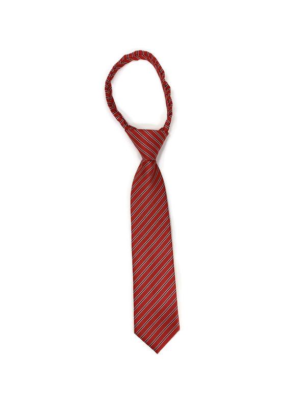 * TIES PATTERN / RED STRIPE 20 / Adjustable Patterned Ties
