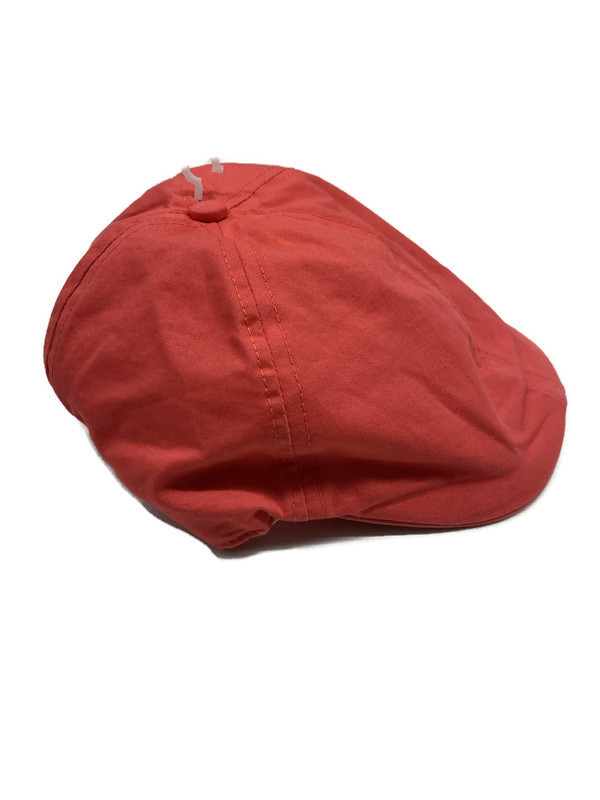 *HAT FRENCH / CORAL RED / Newsboy Cap