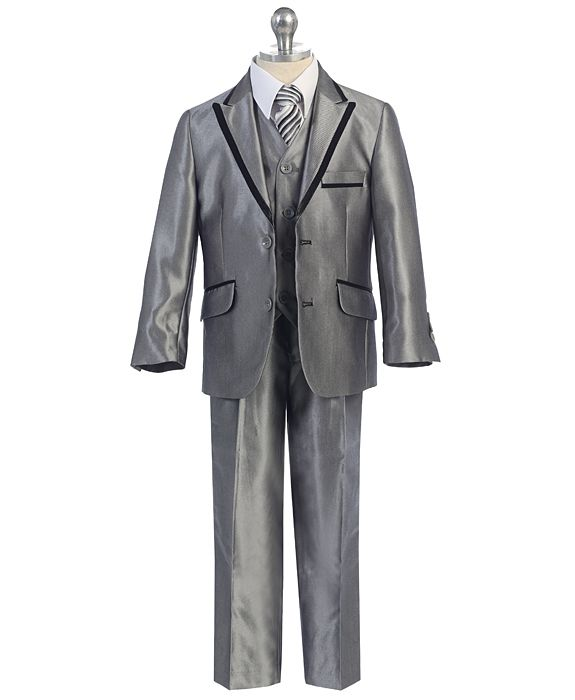 XF-630=1259 / SLIM FIT SUIT 2/7 / SILVER/SHINY