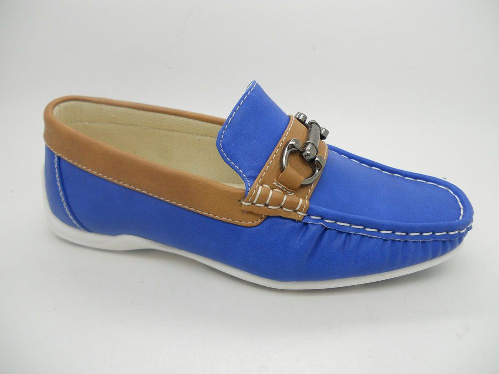 732 / SHOES 2-3-4-5-6-7 / BLUE/BROWN