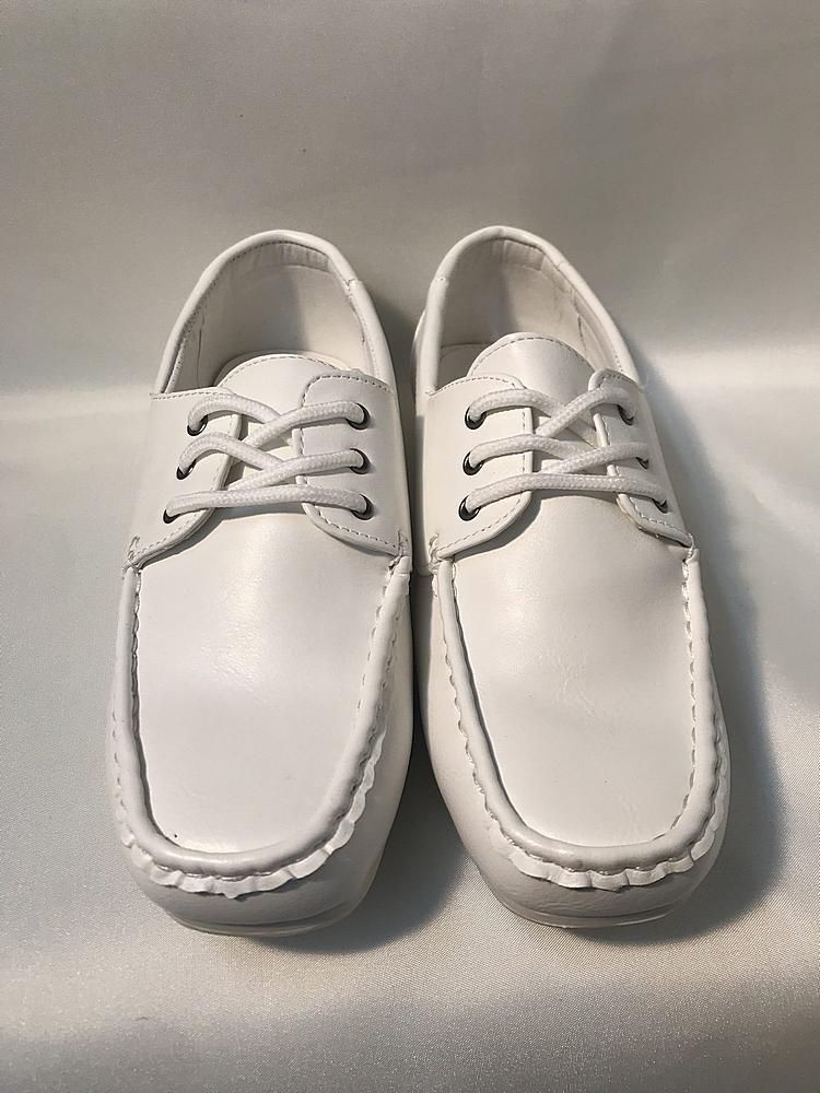 714 / SHOES LASE 6-11 / WHITE
