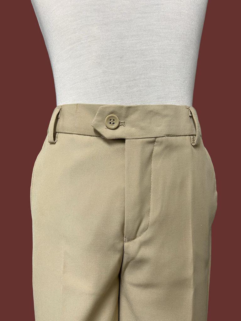 500 / SLIM FIT PANTS -2 / KHAKI