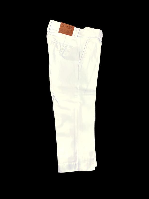 500 / SLIM FIT PANTS -2 / WHITE