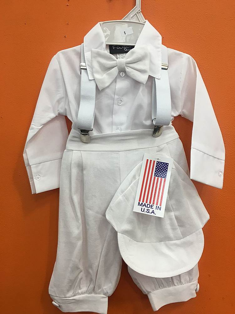 106 / BABY SET / WHITE/WHITE