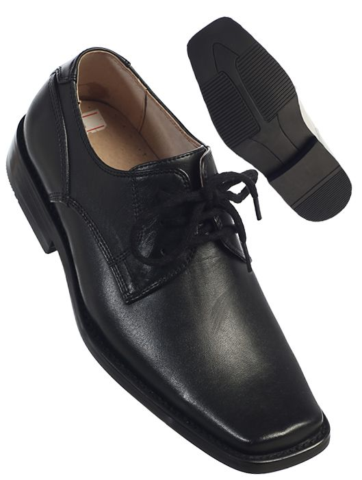 728 / SOLID LASE SHOES 13-1-2-3 / BLACK